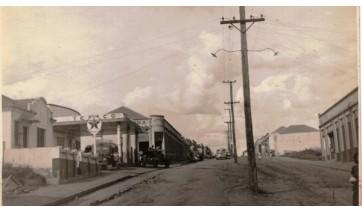 Atual Avenida Adhemar de Barros (ainda sem pavimentação), em Adamantina (Reprodução).