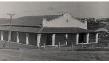 Sede do ATC, onde hoje funciona o Tiro de Guerra de Adamantina (Arquivo).