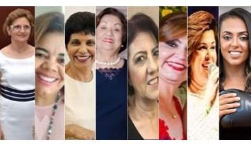 Mulheres homenageadas e o PIB da Vassoura