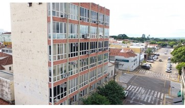 Paço Municipal de Adamantina (Foto: Drone/AdamantinaNet).