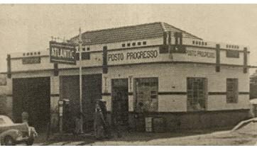 Os primeiros postos de combustíveis de Adamantina