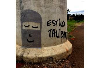 A pichação, o grafite, a história e Adamantina
