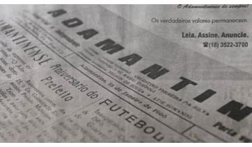 """""""O Progresso"""" e a comunicação impressa de Adamantina"""