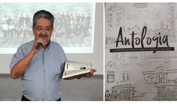 João Passarinho tem texto inserido na 1ª Antologia de contos, poemas e crônicas regionais, organizado por Izabel Castanha Gil e José Braz Oliveira (Divulgação)