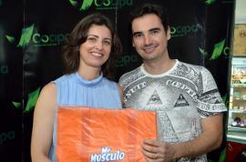 Cocipa  e Vinícola Pizzato promovem noite de degustação de vinhos na loja de conveniência do Auto Posto Cocipa em Adamantina (Fotos: Maikon Moraes/Siga Mais).