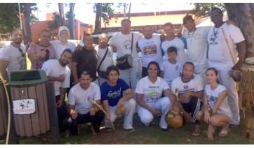 Capoeira de Adamantina participa de encontro em Dourados (MS)