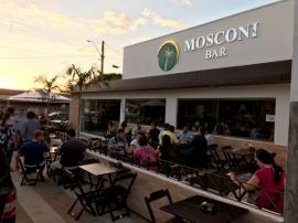 Mosconi Bar é inaugurado em Adamantina (Foto: Maikon Moraes).
