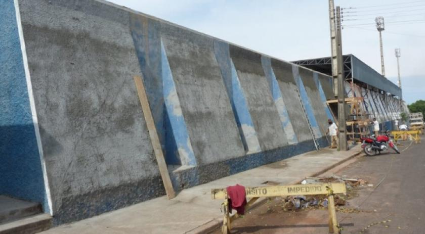 Estádio passa por vistoria e deve receber AVCB que libera o uso do local