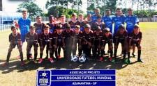 Sub-11 do Universidade do Futebol é campeão na Copa Sul Americana