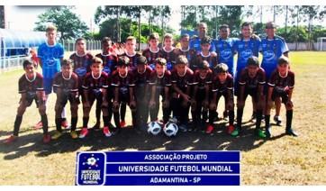 Universidade do Futebol, de Adamantina, disputou com sucesso a Copa Sul Americana, com o primeiro lugar na categoria Su-11 e o quarto na categoria Suub-13 (Fotos: Cedidas).
