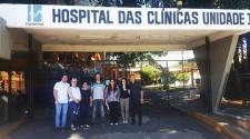 Secretário Municipal de Saúde e equipe visitam Hospital das Clínicas de Marília