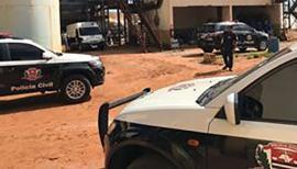 Os 418 quilos de cocaína foram incinerados pela Polícia Civil em empresa da região, procedimento acompanhado pelo Ministério Público e Vigilância Sanitária (Foto: Cedida/Deinter).
