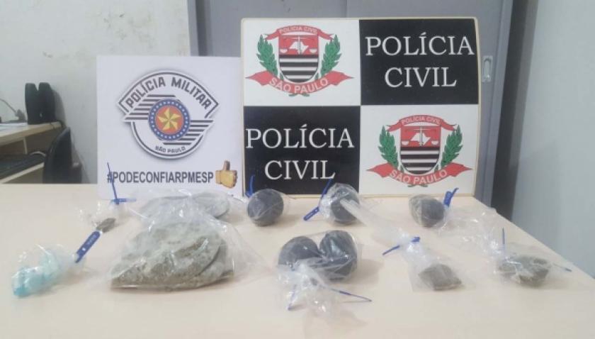 Ação conjunta prende 7 pessoas em flagrante envolvidas com tráfico de drogas