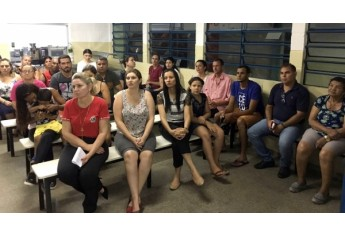 Lançamento oficial do PSIU ocorreu na última quarta-feira (31) em solenidade realizada na Emef Eurico Leite de Moraes, no Jardim Adamantina (Foto: Cedida).