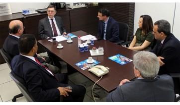 Reitor da UniFAI discute parcerias com a Escola Superior do Ministério Público