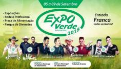 Comissão organizadora divulga regras para locação de espaços na Expoverde 2018