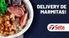 Rede Sete Supermercado passa a oferecer delivery de marmitas