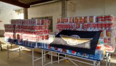 Campanha do Firmeza Moto Clube arrecada 3.242 rolos de papel higiênico à Santa Casa