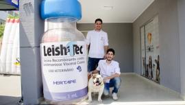Instituto de Especialidades Veterinárias e parceiros realizam ações de conscientização e prevenção contra leishmaniose, em Adamantina (Foto: Fernando Sato/Coruja Comunicação).