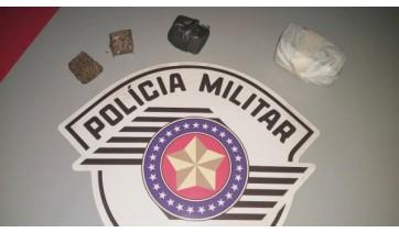 Denúncia anônima leva Polícia Militar a local de tráfico de drogas em Adamantina