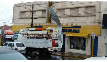 Temporal: passadas mais de 24 horas, há pontos em Adamantina ainda sem energia elétrica