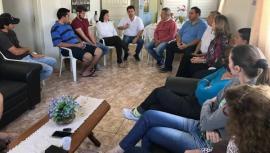 Reunião realizada em Rinópolis, na Associação de Apoio aos Doentes de Câncer (Foto: Da Assessoria).