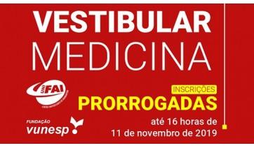 UniFAI prorroga inscrições do Vestibular de Medicina 2020 até 11 de novembro
