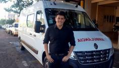 Alcio Ikeda e deputado Pedro Kaká conquistam ambulância para Adamantina