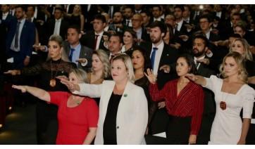 SP empossa 250 novos delegados para a Polícia Civil