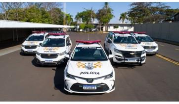 Eixo SP entrega 36 viaturas para policiamento rodoviário
