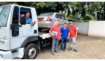 PAI Nosso Lar recebe carro apreendido em operações contra o tráfico de drogas