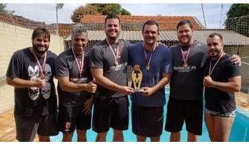 Biribol de Adamantina é tricampeão dos Jogos Regionais
