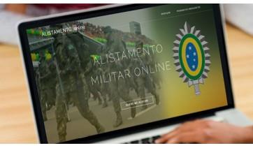 Rapazes que completam 18 anos em 2019 devem fazer o alistamento militar obrigatório até  o próximo domingo, 30 de junho (Reprodução).