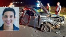 Jovem morre e dois ficam gravemente feridos em acidente na SP-294