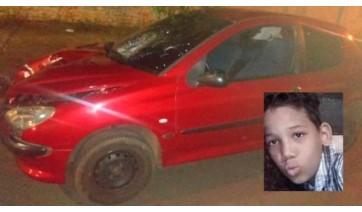 Menino de 13 anos morre após ser atropelado por motorista embriagado, que foge sem prestar socorro