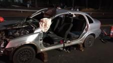 Cavalo solto na pista causa acidente na SP-294