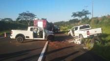 Acidente mata um e fere outras três pessoas em rodovia da região