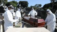 SP registra queda de mortes por coronavírus por três semanas seguidas