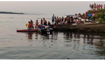 Morador de Dracena, de 48 anos, morre afogado no Rio Paraná, em Panorama