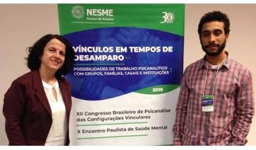 Professora da UniFAI apresenta Rede Promover Vida em Congresso Brasileiro de Psicanálise