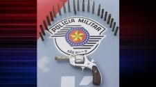 Após denúncia, Polícia Militar apreende arma e munições em Adamantina