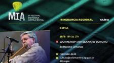 Adamantina recebe workshop Artesanato Sonoro