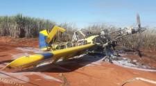 Polícia civil abre investigação sobre queda de avião em Junqueirópolis; piloto não foi localizado