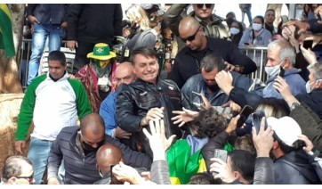 Governo de SP multou Bolsonaro pela 3ª vez por não uso de máscara e divulgou custos com segurança