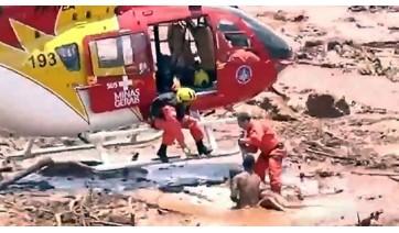 Tragédia se repete em MG: barragem se rompe em Brumadinho