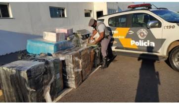 TOR da PM Rodoviária apreende 37 mil óculos e relógios desprovidos de documentação fiscal