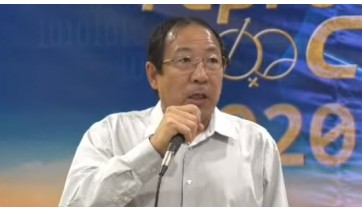 Osvaldo Kunior Matsuda, diretor-presidente da Camda, fala na abertura do 10º Reproducamda (Reprodução).