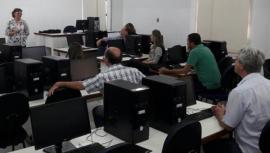 Apresentação do Projeto Sementes Crioulas à pró reitoria de pesquisa e a coordenadores de curso da UniFAI, visando a formalização de parcerias nos segmentos inovação, educação e assessoria (Foto: Acervo Pessoal).