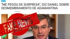 Não procede a informação de que a microrregião de Adamantina teria sido retirada do DRS de Marília