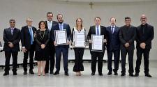 Trio de juízes recebe títulos de Cidadãos Adamantinenses